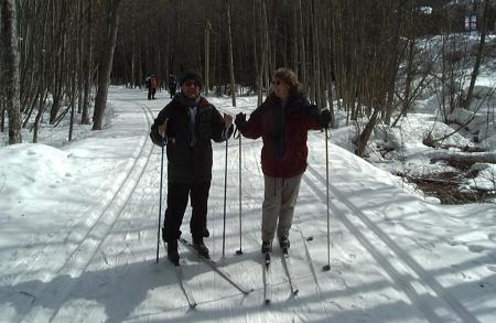 Cross Country Skiing.