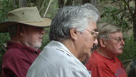 Ian, Carmel and George.