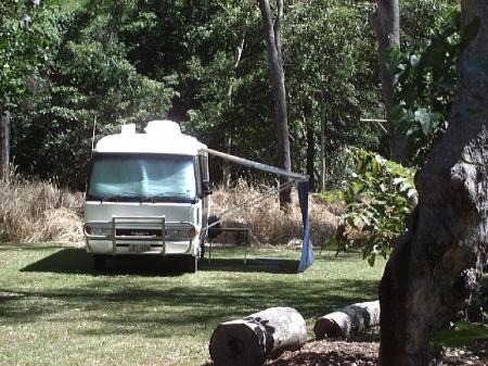 Jourama Falls Campsite.