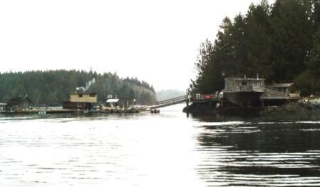 Tofino Floating Houses.