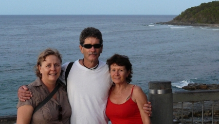 Donnis Ken and Enid at Boiling Point, Noosa.