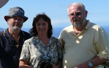 Frank Narelle & Wayne at Mt.Kiera.