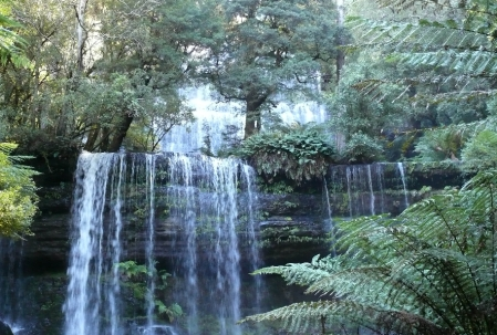 Triple drop Russell Falls.