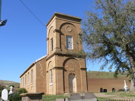 St. Peters Church, Hamilton Circa 1830.