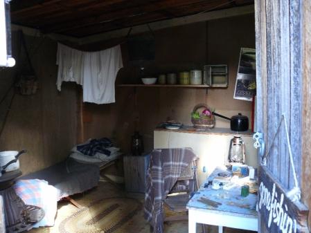 Trout Fishermans hut.