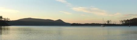 Dawn on Stewarts Bay.