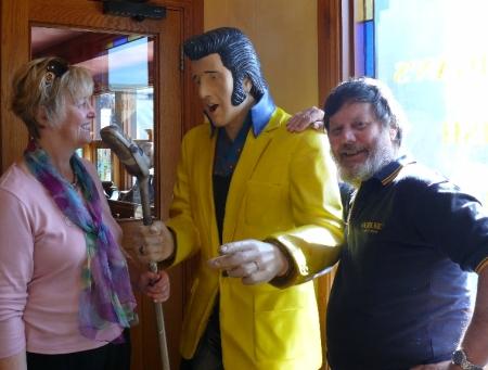 Katherine, Elvis n me.