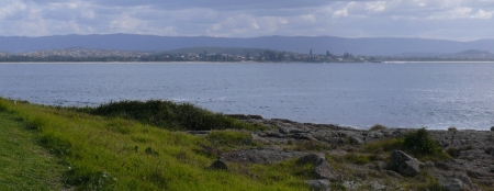 Shellharbour from Bass Point.