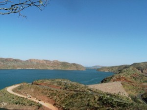 Ord River Dam.