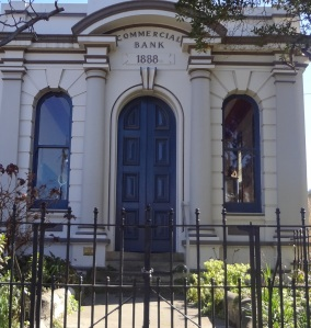 Original Commercial Banking Company of Sydney at Braidwood which also contained the managers residence.
