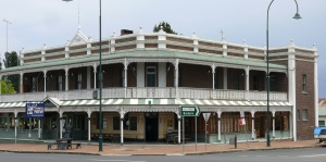 The Thunderbolt Tavern at Uralla.