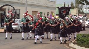 Armidale Pipe and Drum Band.