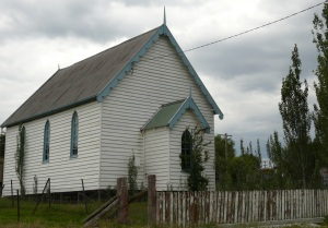 The original Presbyterian Church now re-badged as a Uniting Church.
