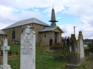 St. John The Baptist Church at Ouse, Tas.