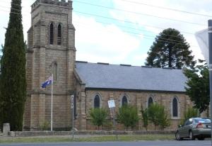 Christchurch Anglican Beechworth, Vic.