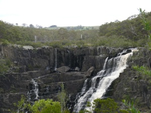 Another view of Apsley Falls.