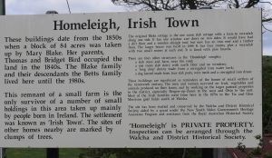 Homeleigh and Irisgtown.