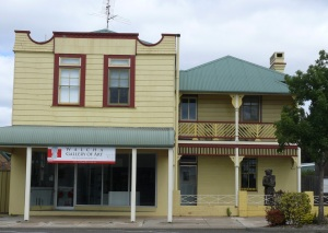 Walcha Art Gallery.
