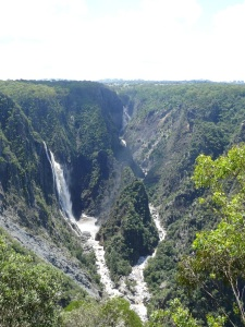 Wollomombi and Chandler Falls.