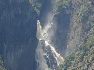 Closeup Chandler Falls.