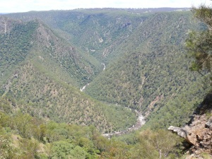 Macleay River Gorge.