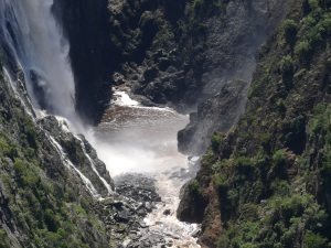 Another view of Mollomombi Falls.