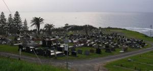Wombarra Cemetery.