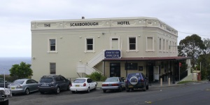Scarborough Hotel. Continuously trading since 1886.