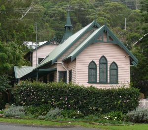 Church converted to a house at Scarborough.