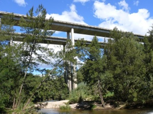 Hume Highway Bridge over Nepean River near Douglas Park.