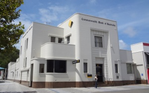 Fine example of Art Deco architecture at Cronulla Beach.