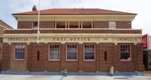 Cronulla Beach Post Office.