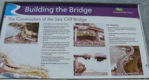 The building of the bridge was a feat in engineering design and construction and has an aesthetic appeal.