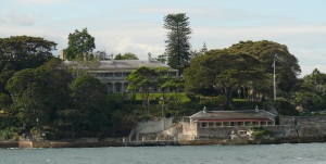 The Australian Prime Ministers official Sydney residence, Kirribilli House.