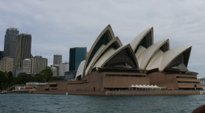 Opera House sits on Benelong Point at Circular Quay.