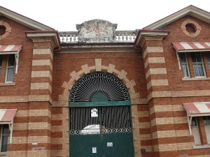 Entrance to Boggo Road Gaol.