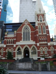 Albert Street Uniting Church, formerly a Methodist Wesleyan Chapel