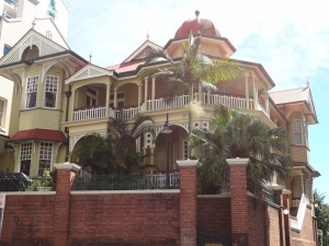 This glorious old house has been owned by the exclusive United Service Club of Brisbane since 1892.