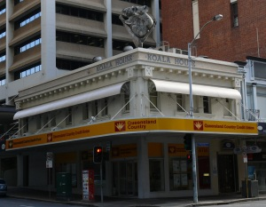 I once managed the Mackay branch of the Queensland Country Credit Union Branch. This branch in Brisbane caught my attention.