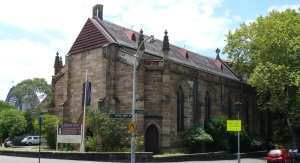 Holy Trinity Garrison Church, Millers Point, The Rocks, sydney