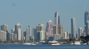 Gold Coast Skyline.