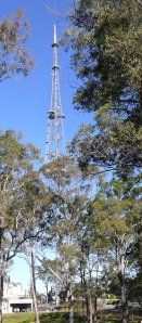 Channel Nine Studios and transmitting tower.
