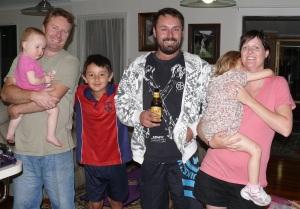 Errol, Hannah, Chris, Peter, Amelia and Nicole