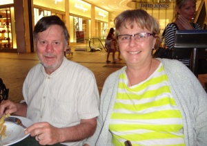 Frank and Donnis Queen Street Mall.