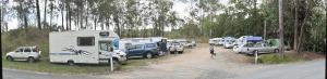 Campsite at Boulder Creek