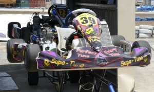One of 84 Karts taking part in the club championships.