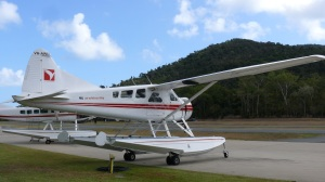 Lots of seaplanes call Whitsunday Coast Airport home.