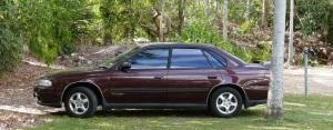 My cherished 1995 Subaru Liberty Rallye/