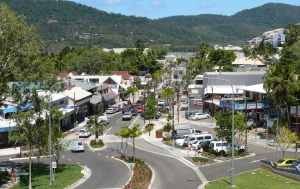 Main Street of Airlie Beach