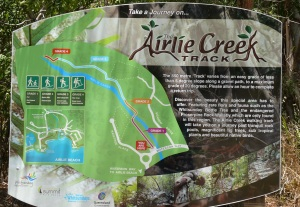 Beginning of Airlie Creek Track